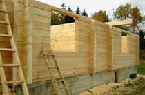 строительство домов из бревен Краснокамск