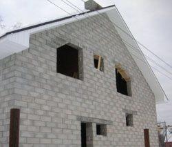 Качественный и недорогой дом из пеноблоков, кирпича, бруса в городе Краснокамск, можно заказать в нашей компании профессиональных строителей СтройСервисНК